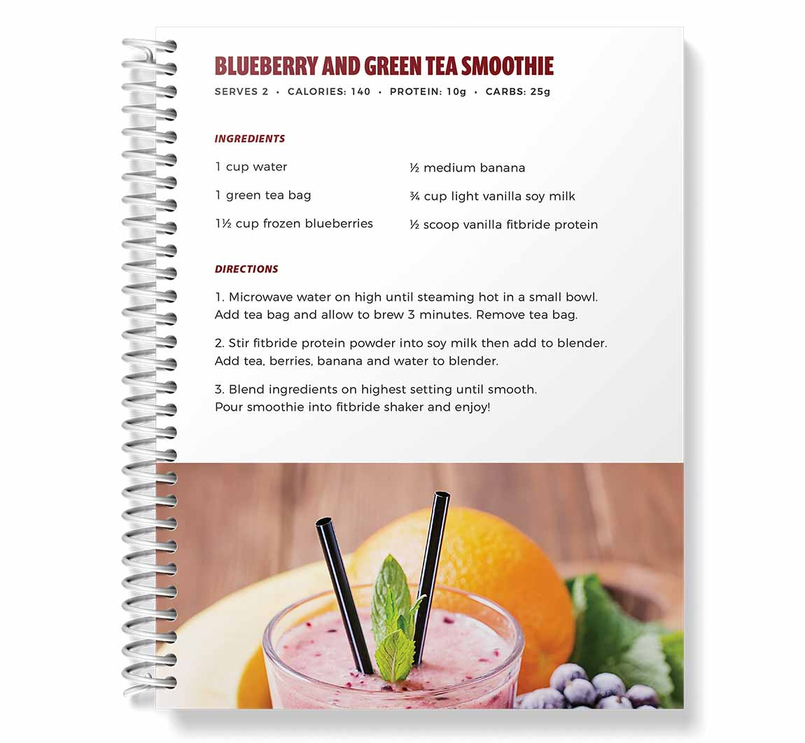 Smoothie recipes from the Fitbride Detox Guide