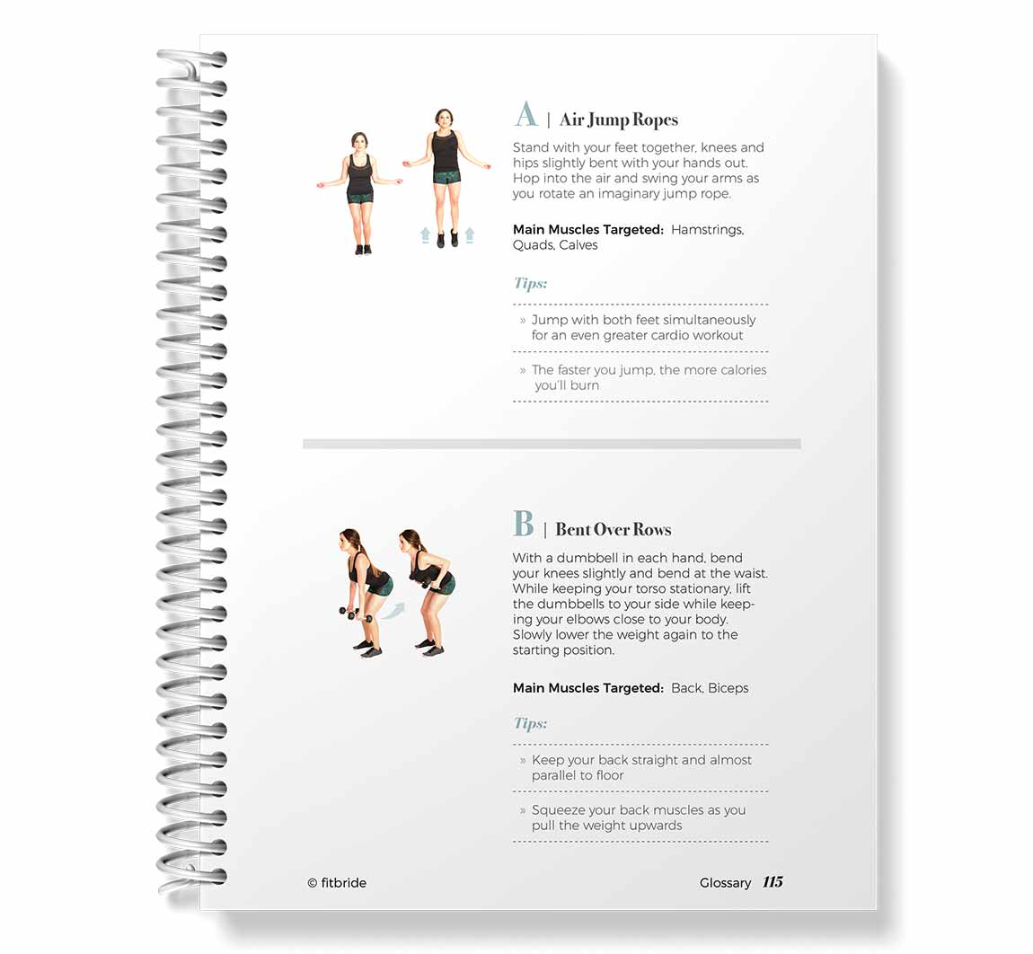 Fitbride Glossary of Exercises